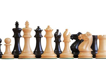 English Ebony Chess Pieces