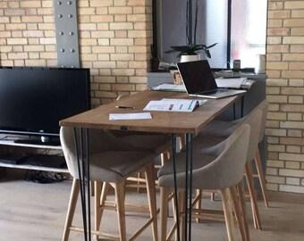 Fournitures pour les travaux d 39 ameublement etsy fr for Pied de table hauteur 85 cm