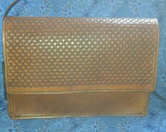 Handmade, hand tooled, leather purse!
