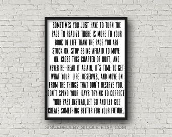 Motivational Quote, Inspirational Wall Art, Quote Art, Printable Wisdom, Faith, Motivational Print, Typography Art, Black And White, Quote