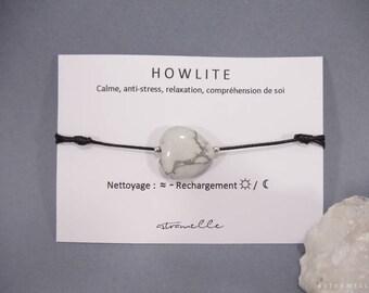 Greed Howlite bracelet