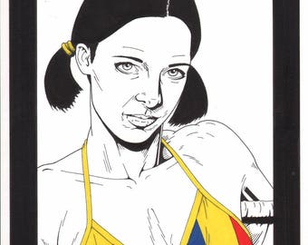 Lina in Chadian Bikini