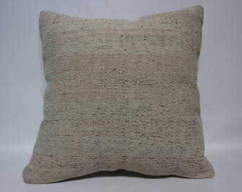 20x20 Decorative Kilim Pillow Decorative Kilim Pillow 20x20 Turkish Kilim Pillow Sofa Pillow Floor Pillow Ethnic Pillow Cushions SP5050-2482