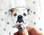 Custom Pet Portrait Stickers/ Original Illustration Stickers/ Pet Portrait Add On/ Add To Your Portrait Order