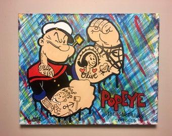 Popeye The Tattooed Man