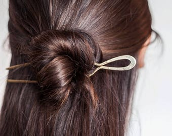 stamped hairpin - classic
