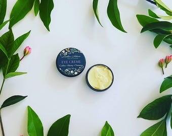 Organic Eye Creme. Under Eye Cream. Anti-wrinkle Cream. Organic Moisturiser