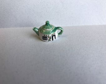 "1"" or 1/12 Scale Miniature Tea Pot by Sam Dunlap"