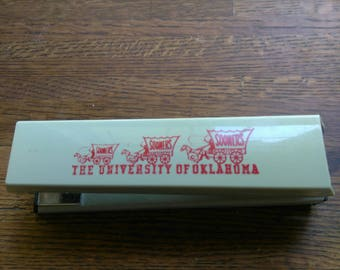 Acco40 Stapler Advertising University of Oklahoma Made in USA
