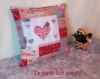 """Pillow cover """"Winter sweetness"""""""