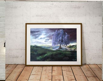 Moody sky - Giclée Print