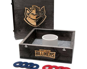 Saint Louis University Billikens Washer Game Set Onyx Stained