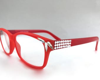 Reading Glasses Made with Swarovski Crystals +1.50 +2.00