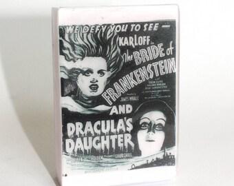Bride of Frankenstein and Dracula's Daughter Halloween Soap