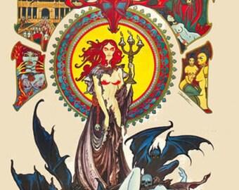 Black Sabbath - Long Island Arena  A3 or A4 Matt