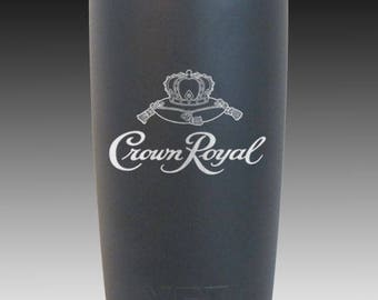Crown Royal 20 oz yeti cup custom
