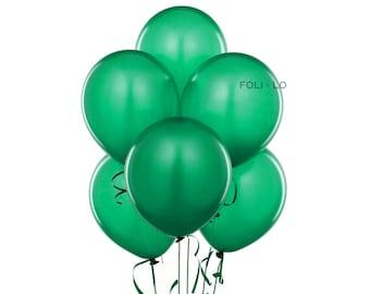 Green Balloon Set | Green Party Balloons | Green Event Balloons | Green Party Theme Balloons | Green Decoration | Set of 6