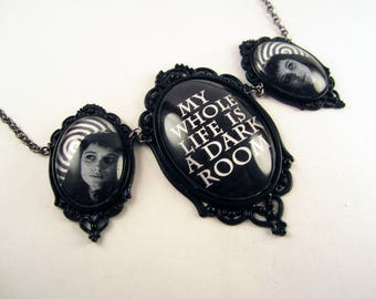 Lydia Deetz triple cameo necklace