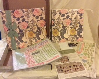 ANNA GRIFFIN FAMILY Memories Scrapbook Kit New In Original Shipping Box