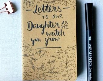 Notebook- Journal- Baby gift- Book- My first book