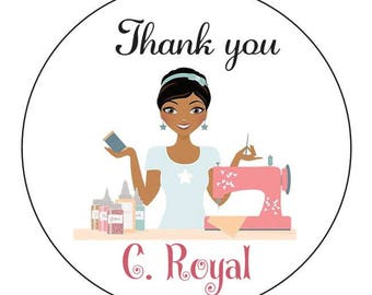 95  Customized Stickers for C. ROYAL     - Prepayment-