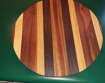 "11.5"" Wooden Lazy Susan/Cake Dish"