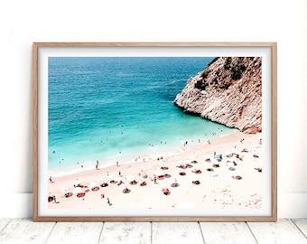 Ocean Print, Beach Photography, Printable Art, Wall Art Prints, Beach Print, Digital Download, Beach Decor, Ocean Waves, Art Prints,