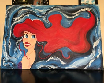 Ariel and All Her Hair