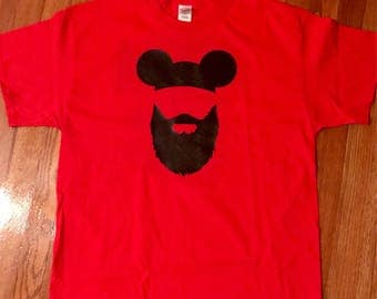 Family Disney Shirts -  Dad Disney Shirts - Mom Dad Family Disney -  Mickey Disney Shirt - Dad Beard Disney Shirt