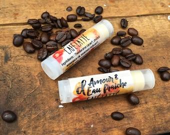 The latte vegan lip balm