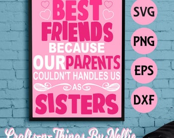 Best Friends SVG