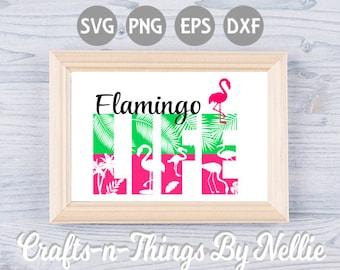 Flamingo Life SVG