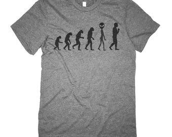 Alien Shirt - Believe Alien Evolution T Shirt