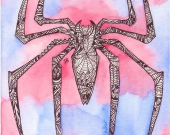 A5 Spider-Man Print