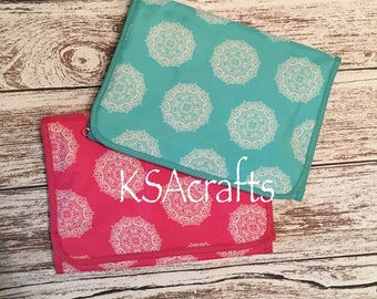 Hanging Cosmetic Bag, Jewelry Roll