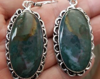 Bloodstone Earrings!