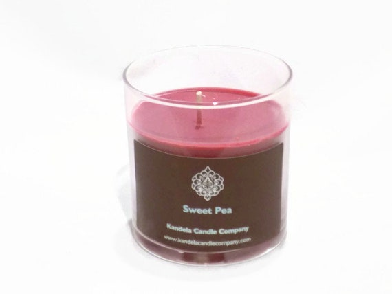 New and for a Limited Time! Sweet Pea Scented Candle in Straight Tumbler
