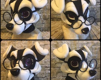 Nerdy Round Fursuit Glasses