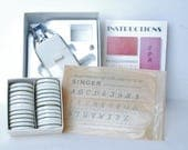 Singer Monogrammer 171256  in original box sold with Monogrammer Discs 171288