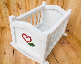 Wooden Cradle for Doll