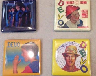 Devo Magnet Set of 4 We Are DEVO