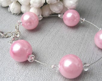 Bracelet pink soft melody collection Tradition