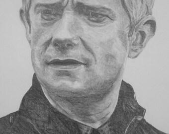 John Watson Pencil [PRINT]
