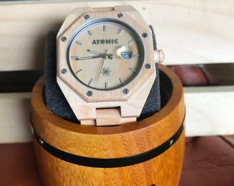 Men's favorite - Atomic Bamboo Watch 2017