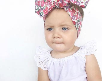 headwrap toddler adult wrap headwrap headband, baby topknot, knotted headband, baby headband, baby headband,