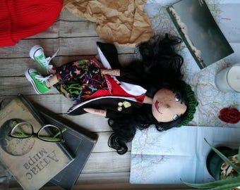 Warm textile doll