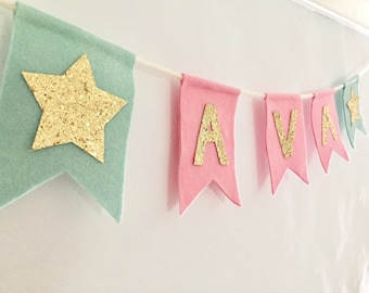 Personalised Bunting Banner