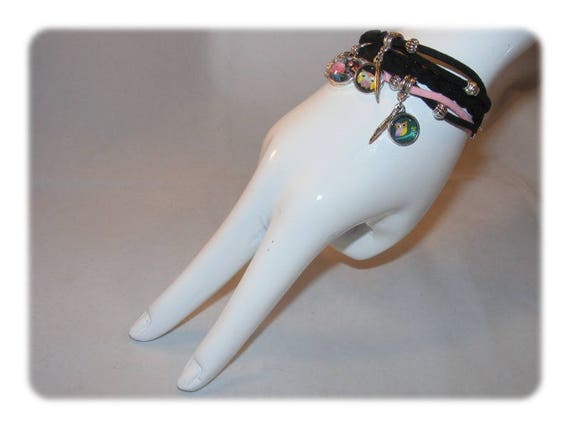 Cuff style bracelet * OWL ஆந்தை * Unique