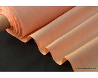 salmon faux fabric for tablecloth and decoration. x 1 m