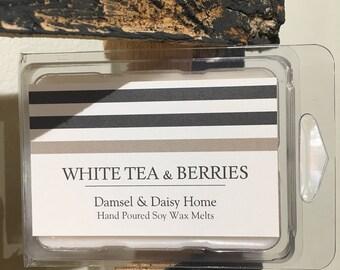 White Tea & Berries Wax Melts